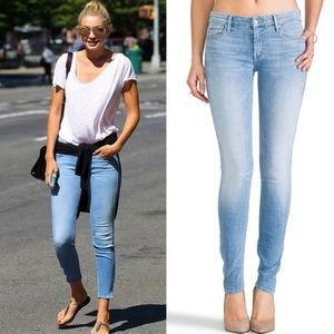 MOTHER | 27 The Looker Skinny Jeans Light Kitty